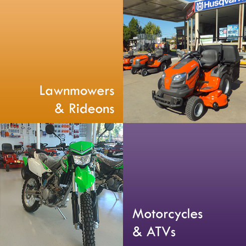 Lawnmowers, Rideons, Motorcycles and ATVs For Sale Hay - Engine Hub Hay